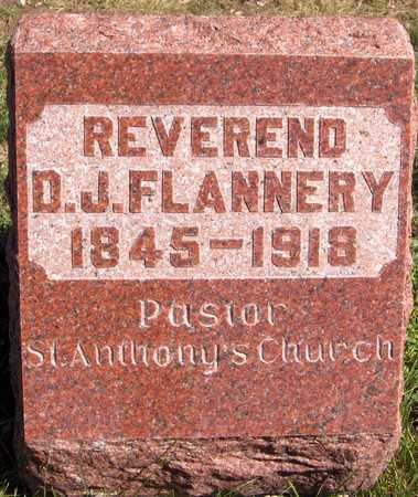 FLANNERY, REV. D.J. - Scott County, Iowa | REV. D.J. FLANNERY