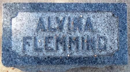 FLEMMING, ALVINA - Scott County, Iowa | ALVINA FLEMMING