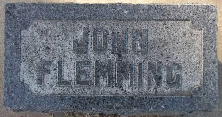 FLEMMING, JOHN - Scott County, Iowa   JOHN FLEMMING