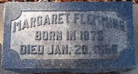 FLEMMING, MARGARET - Scott County, Iowa | MARGARET FLEMMING