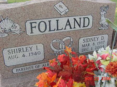 FOLLAND, SIDNEY D - Scott County, Iowa | SIDNEY D FOLLAND