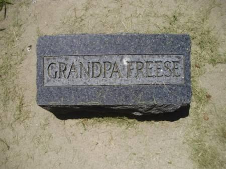 FREESE, GRANDPA - Scott County, Iowa | GRANDPA FREESE