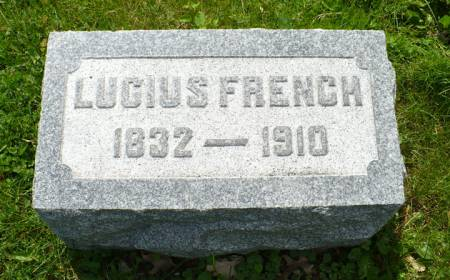 FRENCH, LUCIUS - Scott County, Iowa | LUCIUS FRENCH