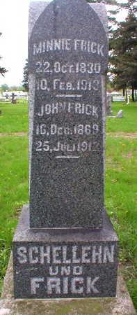 FRICK, JOHN - Scott County, Iowa | JOHN FRICK