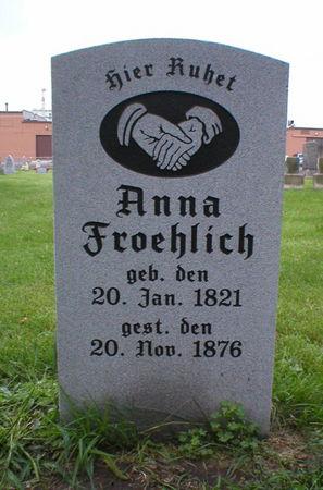FROEHLICH, ANNA - Scott County, Iowa | ANNA FROEHLICH