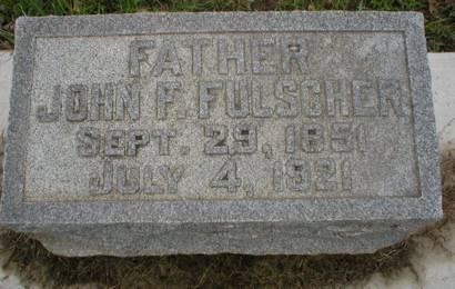 FULSCHER, JOHN F. - Scott County, Iowa | JOHN F. FULSCHER