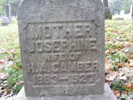 GAMBER, JOSEPHINE - Scott County, Iowa | JOSEPHINE GAMBER