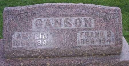 GANSON, AMELIA - Scott County, Iowa   AMELIA GANSON