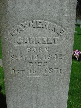 GARKEET, CATHERINE - Scott County, Iowa | CATHERINE GARKEET