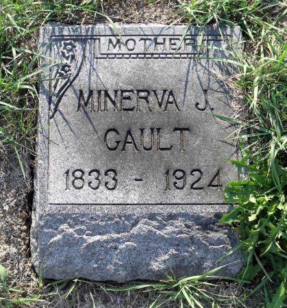 GAULT, MINERVA JANE - Scott County, Iowa | MINERVA JANE GAULT