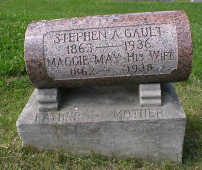 GAULT, MAGGIE MAY - Scott County, Iowa | MAGGIE MAY GAULT