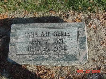 GERTZ, ANNA - Scott County, Iowa | ANNA GERTZ