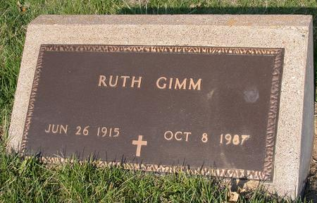 GIMM, RUTH LORETTA - Scott County, Iowa | RUTH LORETTA GIMM