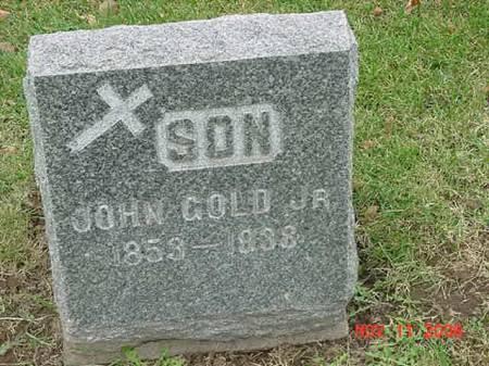 GOLD, JOHN JR - Scott County, Iowa   JOHN JR GOLD