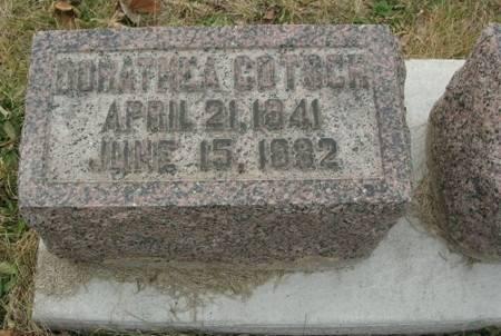 GOTSCH, DORATHEA - Scott County, Iowa | DORATHEA GOTSCH