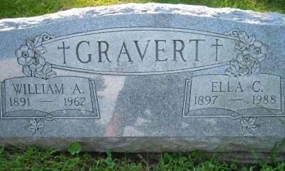 GRAVERT, ELLA CHRISTINA - Scott County, Iowa | ELLA CHRISTINA GRAVERT
