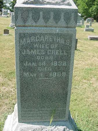 GRELL, MARGARETHA - Scott County, Iowa | MARGARETHA GRELL