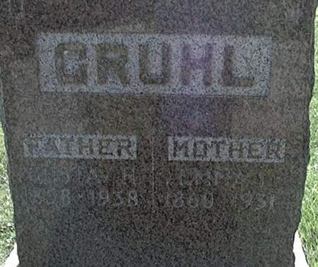 GRUHL, EMMA L. - Scott County, Iowa | EMMA L. GRUHL