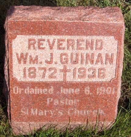 GUINAN, REV. WM. J. - Scott County, Iowa | REV. WM. J. GUINAN