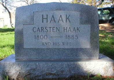 HAAK, CARSTEN - Scott County, Iowa | CARSTEN HAAK