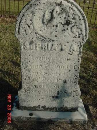 HACKER, SOPHIA F A - Scott County, Iowa | SOPHIA F A HACKER