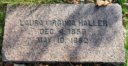 HALLER, LAURA VIRGINIA - Scott County, Iowa | LAURA VIRGINIA HALLER