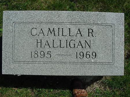HALLIGAN, CAMILLA R - Scott County, Iowa | CAMILLA R HALLIGAN