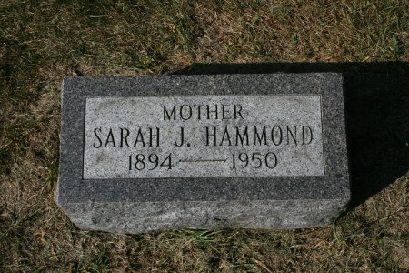 HAMMOND, SARAH JANE - Scott County, Iowa | SARAH JANE HAMMOND