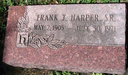 HARPER, CLARA PAULINE VAUGHAN - Scott County, Iowa | CLARA PAULINE VAUGHAN HARPER