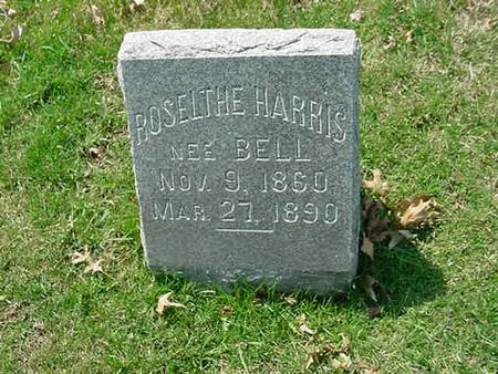 BELL HARRIS, ROSELTHE - Scott County, Iowa | ROSELTHE BELL HARRIS