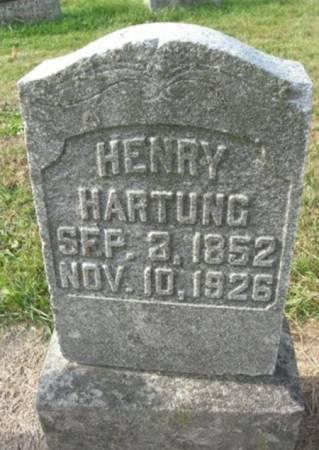 HARTUNG, HENRY - Scott County, Iowa | HENRY HARTUNG