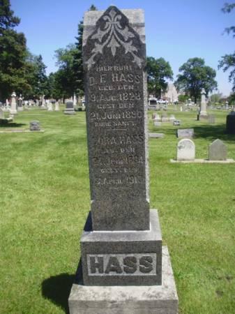 HASS, DORA - Scott County, Iowa | DORA HASS