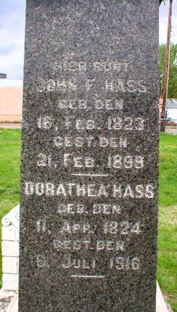 HASS, JOHN F. - Scott County, Iowa | JOHN F. HASS