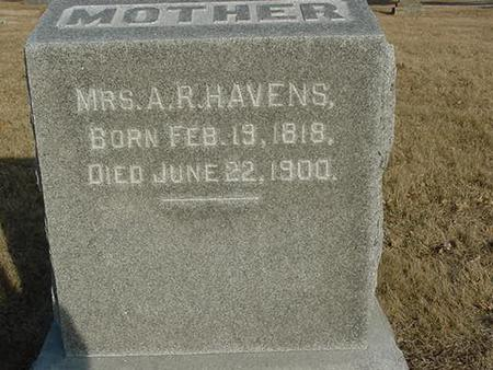 HAVENS, MRS. A.R. - Scott County, Iowa | MRS. A.R. HAVENS