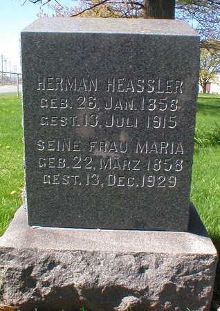 HEASSLER, HERMAN - Scott County, Iowa | HERMAN HEASSLER