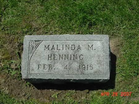 HENNING, MALINDA M - Scott County, Iowa | MALINDA M HENNING