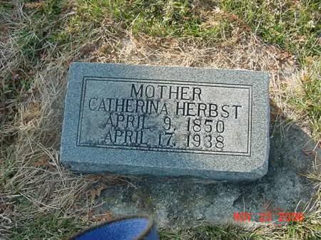 HERBST, CATHERINA - Scott County, Iowa | CATHERINA HERBST