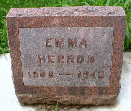 HERRON, EMMA - Scott County, Iowa | EMMA HERRON