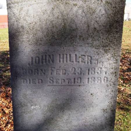 HILLER, JOHN - Scott County, Iowa   JOHN HILLER