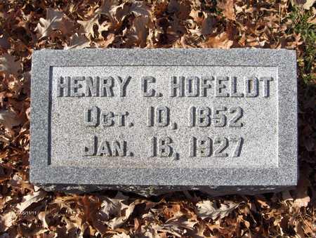 HOFELDT, HENRY C. - Scott County, Iowa | HENRY C. HOFELDT
