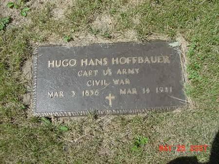 HOFFBAUER, HUGO HANS - Scott County, Iowa | HUGO HANS HOFFBAUER