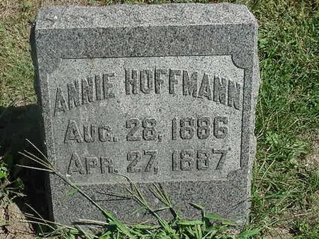 HOFFMANN, ANNIE - Scott County, Iowa | ANNIE HOFFMANN