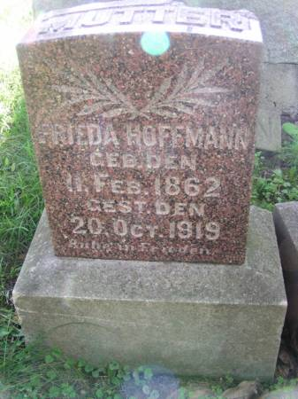 HOFFMANN, FRIEDA - Scott County, Iowa | FRIEDA HOFFMANN
