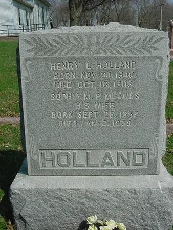 HOLLAND, HENRY L - Scott County, Iowa | HENRY L HOLLAND