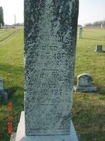 HOLST, MARY - Scott County, Iowa | MARY HOLST