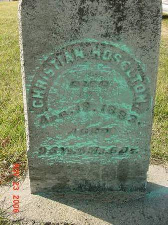 HOSELTON, CHRISTIAN - Scott County, Iowa | CHRISTIAN HOSELTON