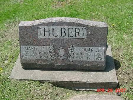 HUBER, LOUIS A - Scott County, Iowa | LOUIS A HUBER