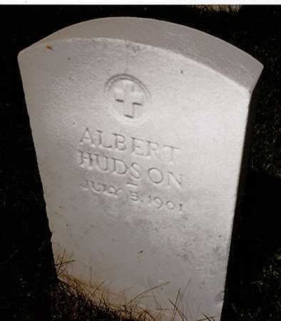 HUDSON, ALBERT - Scott County, Iowa | ALBERT HUDSON