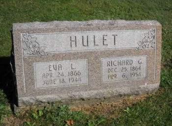 HULET, EVA  L. - Scott County, Iowa | EVA  L. HULET