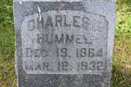 HUMMEL, CHARLES FRANKLIN - Scott County, Iowa   CHARLES FRANKLIN HUMMEL
